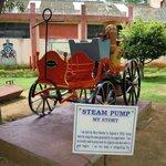 Old steam pump