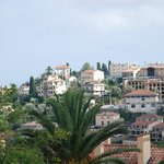 overlooking Vence