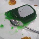 Gelatina verde (auténtido flubber)