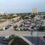 View of adjacent parking lot