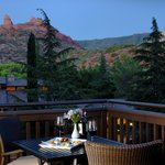 Vista Suite and Cottage Deck View