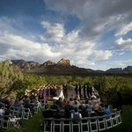 Wedding on SpiritSong with Red Rock View