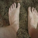 The simple joy of going barefoot!