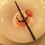 Dessert - Strawberry mousse DELICIOUS!!