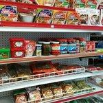 Mini store with Filipino foods
