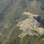 Vista desde el Huayna Picchu, la montaña vecina.