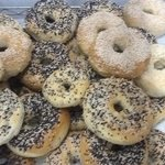 Bagels Boiled & Baked