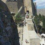 Линдос. Вход в Акрополь