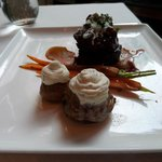 Perfectly created Filet Mignon.