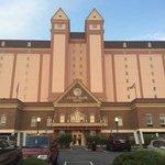 Front at the grand, royal, elegant Dunes Manor Hotel/Resort....best hotel in OCMD!!