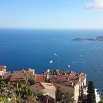 Breathtaking views from the peak in Eze