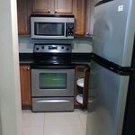 Kitchenette(even came with a dishwasher)