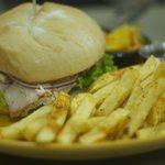 Roasted Pork Tenderloin Sandwich