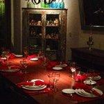 La mesa y su decoracion