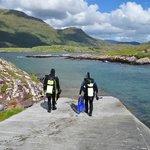 Great shore diving