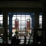 Vista desde la recepción