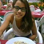 Gnocchi al tartufo.  Best thing we ever ate.
