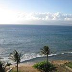 View facing west towards Moloka'i