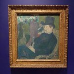 Work by Toulouse-Lautrec