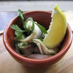 Our pickled herring tapas