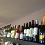 A small but excellent selection of wine from our local merchant