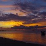 Amazing sunsets at Wailoaloa Beach