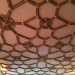 Beauteful guilded ceiling