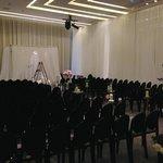 Another wedding setup in Vinci Ballroom