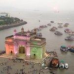 India Gate! Utsikt från rummet