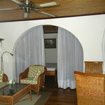 One of the double rooms