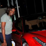 me and my would be ferrari.. in another life maybe