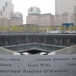 911 Memorial Reflecting Pool seen from one corner