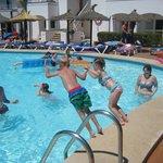 Pool at D block