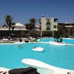 pool area daytime