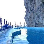 Interesting Pool next to the rocks