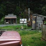 Cabins outside