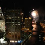 Navy Pier Fireworks from Room