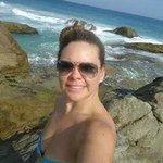 Parte rochosa da Praia de Lopes Mendes