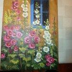 Mary Beth Painting from La Fonda gift shop
