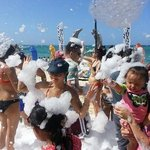 Cortecito beach tuesdays foam party