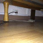 Sous les lits