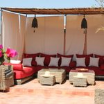 la nouvelle terrasse du Riad les Rêves d'Amélie