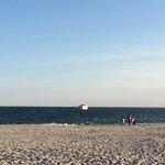 Clean water & sand beach