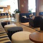 Lobby and bar area