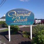 Beach entrance!