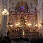 Altar at Aglona Basilica