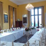 private dining room for a small wedding