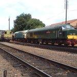 British Railways, Peak Class, Diesel Locomotive.