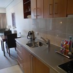 Kitchenette in Marina view 1 bed suite, Sebel Suites