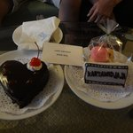 birthday cake from Baiyoke hotel